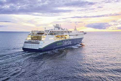 Tagungsschiff Color Magic auf der Ostsee nach Oslo