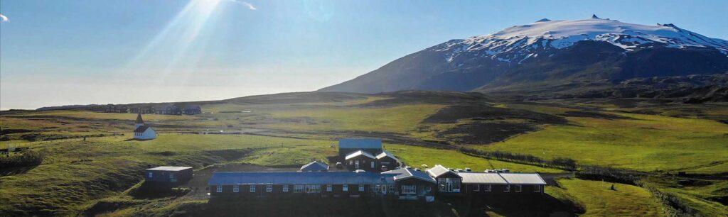 Islan Fosshotel-Helnar-Landschaft